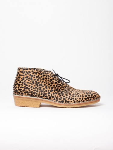 Ymc Desert Boot Leopard At Gargyle