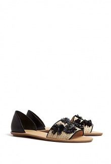 Sawyer Two Tone Embellished Sandals By Loeffler Randall