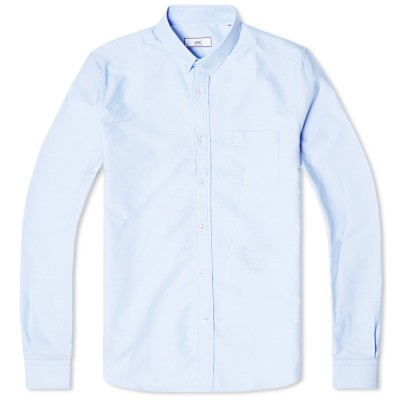 Ami Light Oxford Shirt Blue