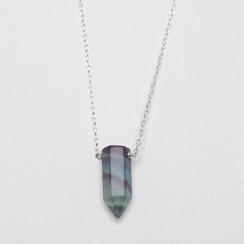 Lin Morris Crystal Bullet Necklace