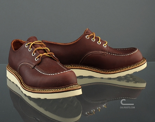 Red Wing 8109 Moc Toe Oxford Caliroots com