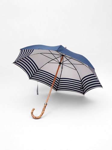 London Undercover L U G B Naval Stripe Umbrella Present London