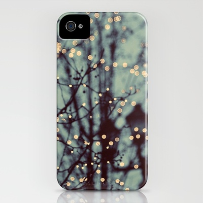 Winter Lights iPhone Case by Elle Moss Society6
