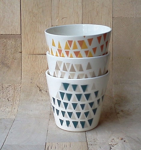 Stacking Cups by perchceramics on Etsy
