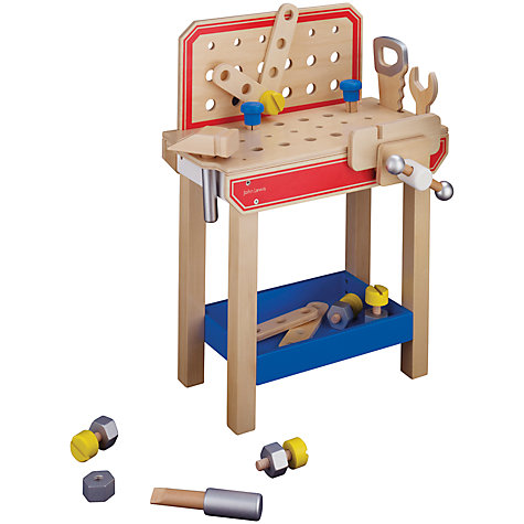 Buy John Lewis Wooden Tool Bench Online At Johnlewis.Com