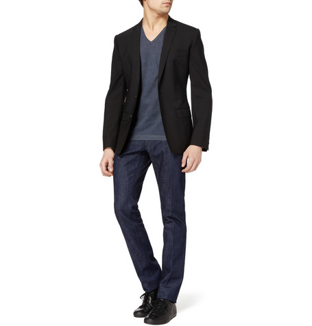 Dolce Gabbana Raw Slim Fit Jeans MR PORTER