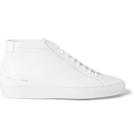 Common Projects Original Achilles Leather High Top Sneakers MR PORTER