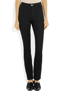 Acne Needle high rise skinny jeans NET A PORTER COM