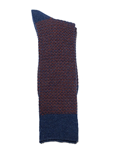Marcomonde Mens Wool And Nylon Blend Socks