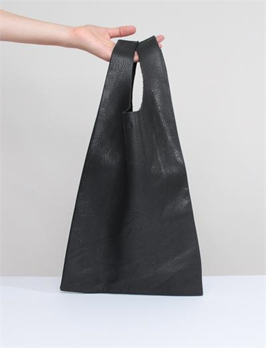 Baggu Small Leather Handle Bag
