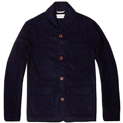 Universal Works Labour Jacket Navy