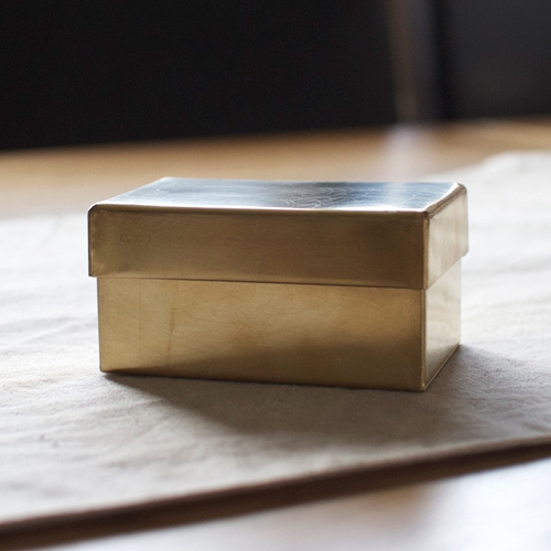 Rectangular Brass Can Ss Oen Shop