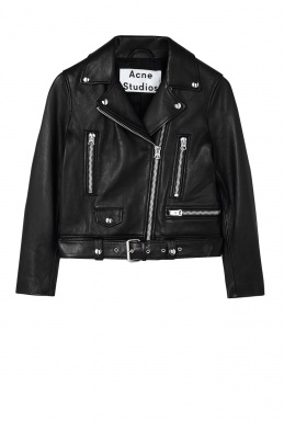 Acne Studios Mock Leather New Biker By Acne