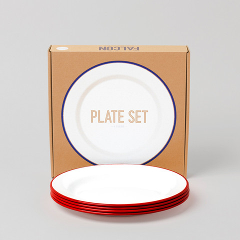 Haus Plate Set By Falcon Enamelware