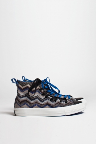 Converse X Missoni Chuck Taylor Hi Crown Blue TRES BIEN