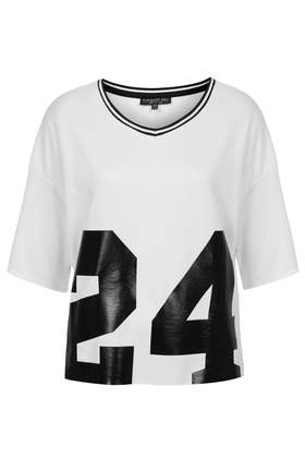 Tall No.24 Motif Tee Clothing Topshop