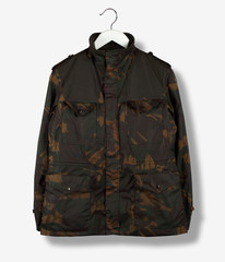 Camo Fishing Jacket Olive The Hip Store