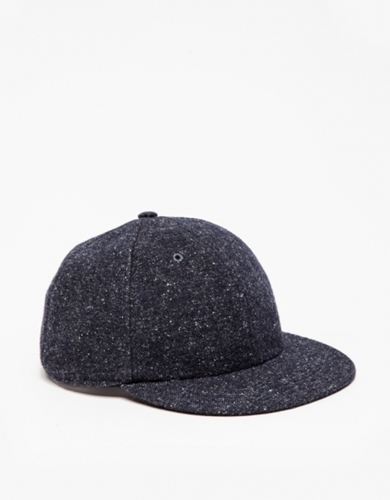 New York Cap In Navy