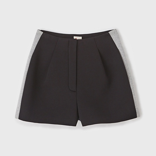 Fabric Patched Neoprene Shorts Steven Alan