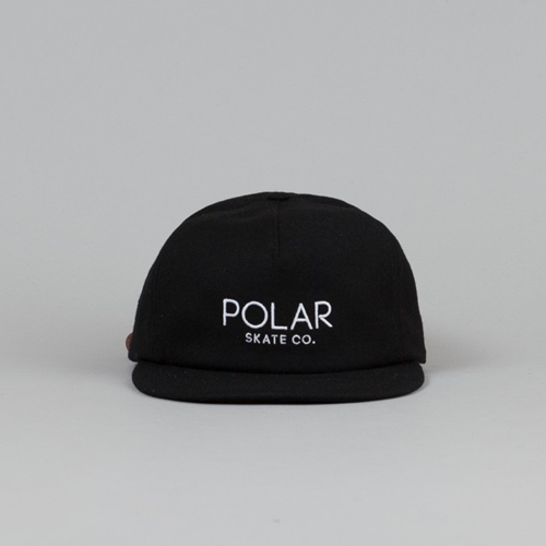 Polar Default Cap Black White Flatspot