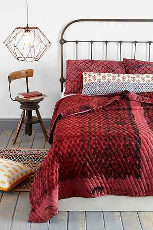 Noodle Jaipur Overdyed Quilt Urban Outfitters