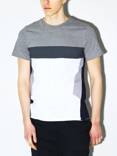 General Idea Color Block T Shirt Oak