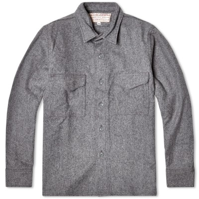 Filson Wool Shirt Jacket Grey