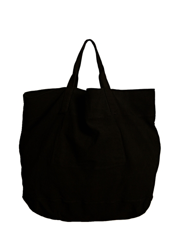 Rick Owens Mens Drkshdw Oversized Canvas Bag Ln Cc