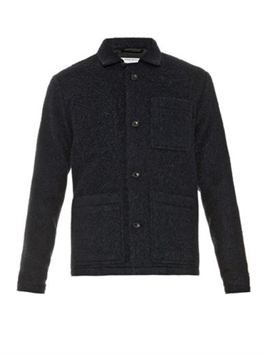 Single Breasted Boiled Wool Jacket Patrik Ervell Matchesfa...
