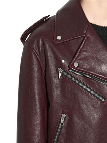Proenza Schouler Leather Biker Jacket Luisaviaroma Luxury Shopping Worldwide Shipping Florence