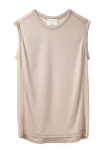 3 1 Phillip Lim Muscle Tee w Sheer Yoke La Garconne