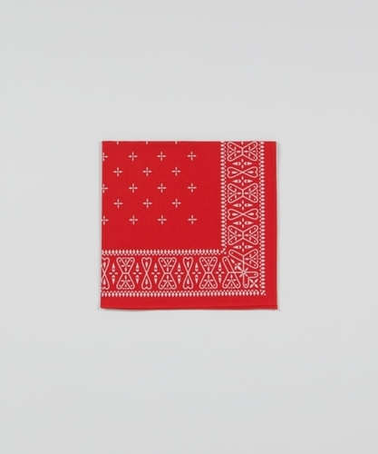 Real McCoy s Cross Bandana Red Superdenim
