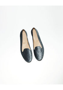 MM6 by Maison Martin Margiela Velvet Loafer La Garconne