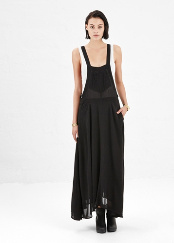 Totokaelo Isabel Marant Black Bacia Dress