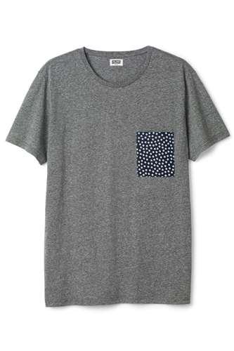 Weekday Tees Smocket Printed Ss Tee