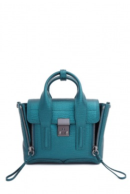 3.1 Phillip Lim Turquoise Pashli Mini Satchel By 3.1 Philip Lim