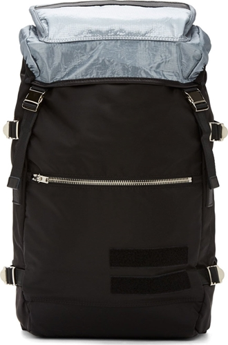 Tim Coppens Black Silver Base Camp Rucksack
