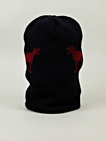 Jil Sander Men s Camel Blend T Rex Hat in navy blue at oki ni