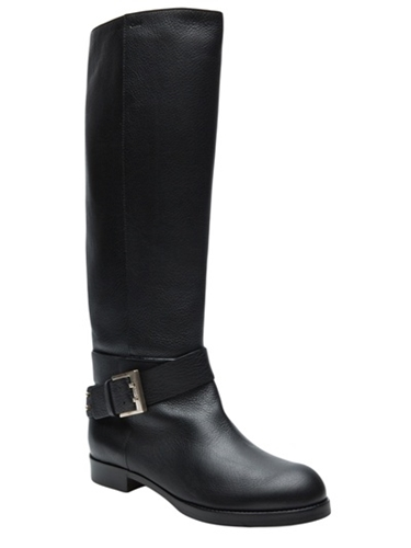 Chloe Tall Flat Boot Hu S Shoes farfetch com