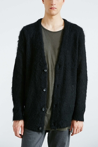 Your Neighbors Mohair Cardigan Urban Outfitters