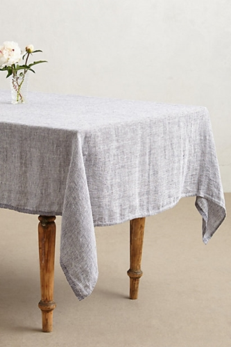 Lost Found Dot Stitched Tablecloth Anthropologie.Com