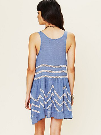 Intimately Free People Voile Trapeze Slip at Free People Clothing Boutique