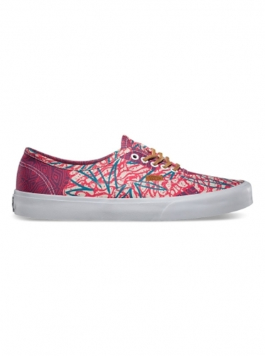 Shoes Vans Authentic Ca Cali Tribe Washed Poppy Red Potent Purple