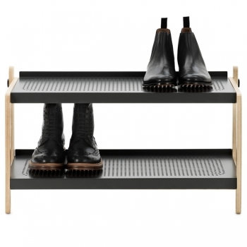 Sko Shoerack Grey Coatracks Furniture Finnish Design Shop