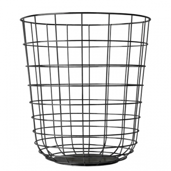 Wire Bin Black Storage Decoration Finnish Design Shop