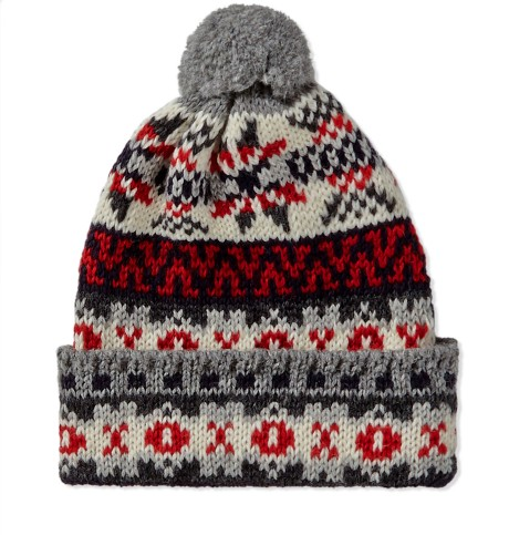 Fairisle Bobble Hat Hats And Scarves Accessories Mens
