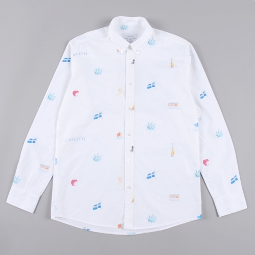 Soulland Idyl Shirt White Colour