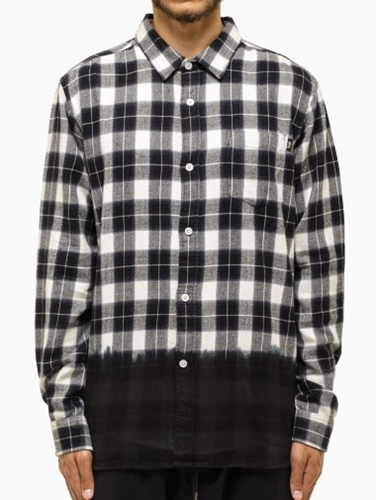 Flannel Shirt From F W2014 15 Stussy Collection In Black And White