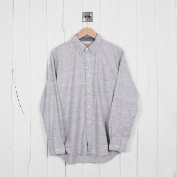 Edwin Captain Shirt Grey Rinsed At Denim Geek