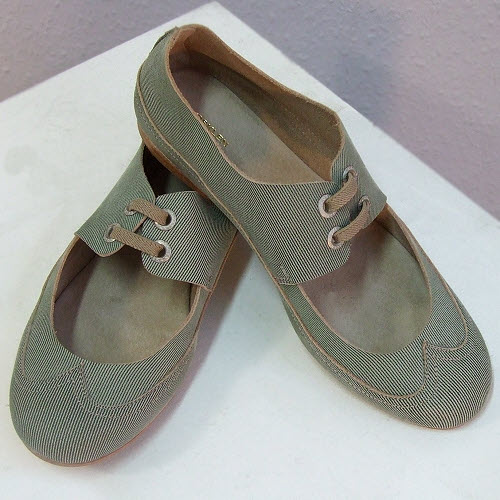 SHOES OSKLEN Thin Striped Shoes 23388 NEW LOW PRICE
